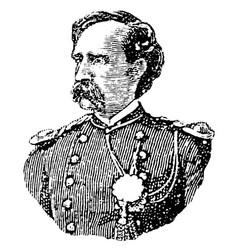 Custer vintage vector
