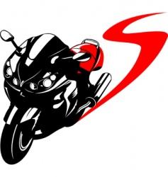 moto vector image vector image