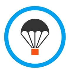 Parachute Rounded Icon vector