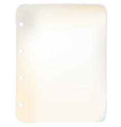 Sheet grunge paper vector