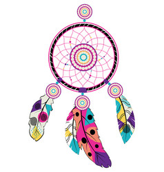 Stylized dream catcher vector