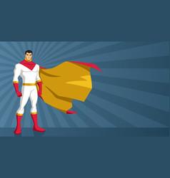 superhero asian ray light vector image