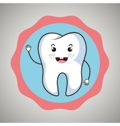 Symbol tooth isolated icon design vector