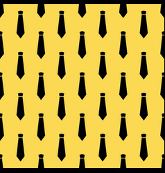 Seamless pattern with neckties vector