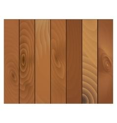 Wooden texture panels vector image vector image