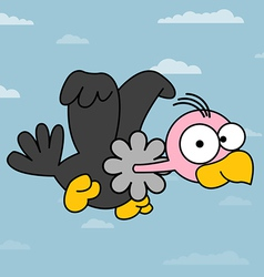 Vulture catoon vector