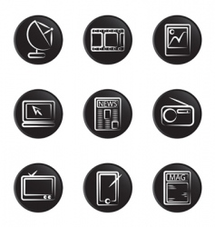 electronic object icon vector image