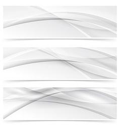 Header footer halftone swoosh line web collection vector