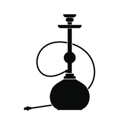 Hookah icon simple style vector