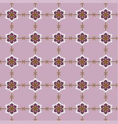 Japanese seamless pattern flower vector