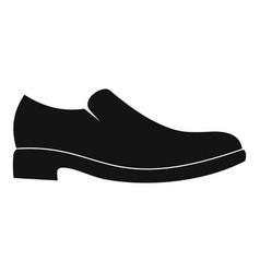 men shoe icon simple vector image