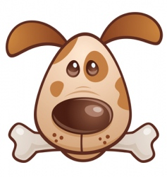 puppy vector image