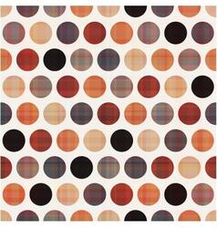 seamless polka dots pattern texture vector image