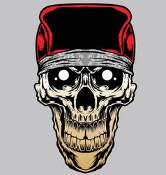 Skull bandana caps gradient vector