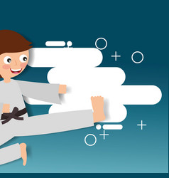 Sport kids activity vector