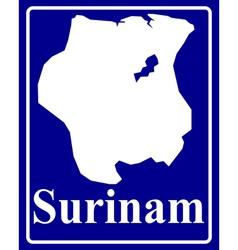 Surinam vector