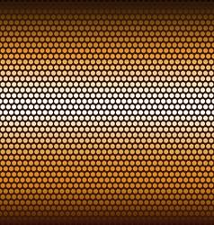 Background of hexagons vector image vector image