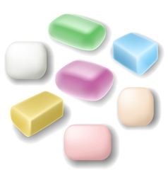 Soap set vector image