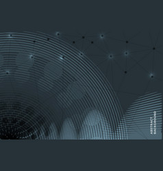abstract dark background vector image