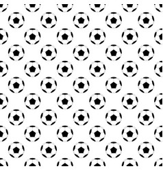 black football ball on white background vector image