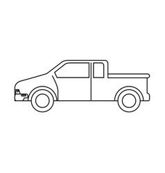 Car vehicle van icon vector