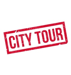 City Tour rubber stamp vector