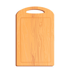 Colorful of cutting board vector
