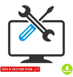 Computer Tools Eps Icon vector