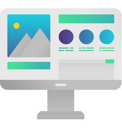 Computer web design icon graphic content vector