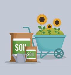 Gardening concept design vector