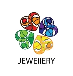 Logo jewel vector