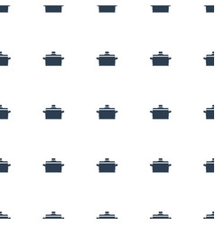 pan icon pattern seamless white background vector image