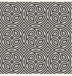 seamless lines pattern geometric background vector image