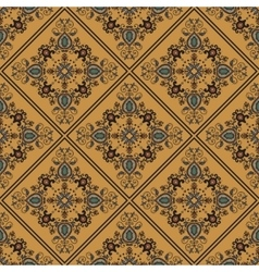 Seamless pattern in ethnic oriental style vector image vector image
