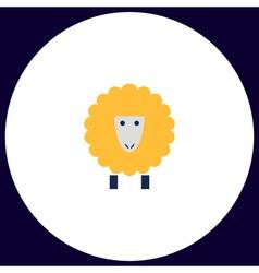 Sheep computer symbol vector