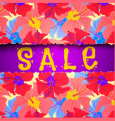 Torn paper summer sale vector