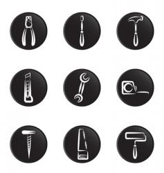 tool icon vector image vector image