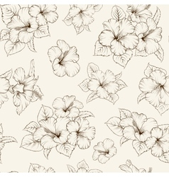 Bridal seamless pattern vector image