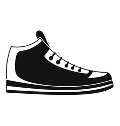 sneakers icon simple vector image vector image
