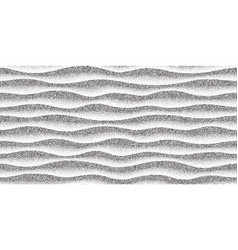 Abstract seamless stippled halftoned waves pattern vector