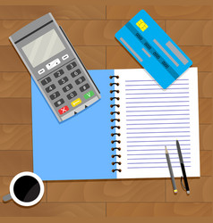Business paying finance vector