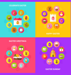 celebrate easter concepts vector image