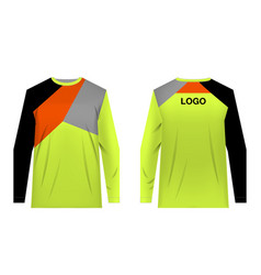Mtb jersey templates vector