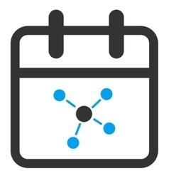 Scheme Date Icon vector