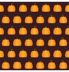 Seamless Halloween Pumpkin pattern vector