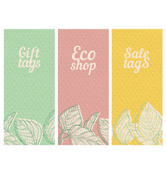 paper textured banners set vector image