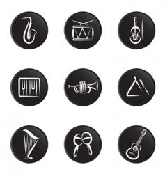 instrument icon vector image vector image