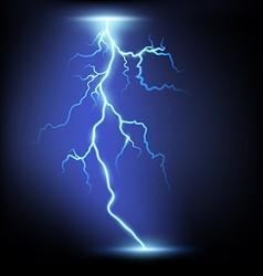 Lightning Stock vector image