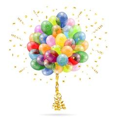 Birthday Balloons vector image