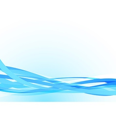 Bright blue lines abstract stream speed background vector image
